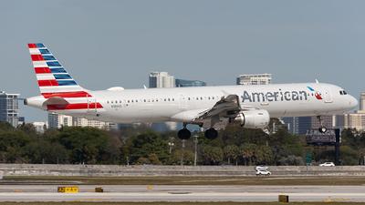 N186US - Airbus A321-211 - American Airlines