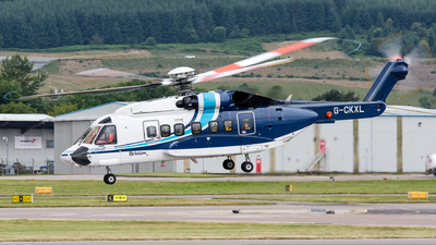 A picture of GCKXL - Sikorsky S92A Helibus - Bristow Helicopters - © Kyle McKinlay