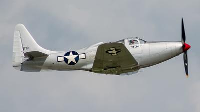 N6763 - Bell P-63F King Cobra - Private