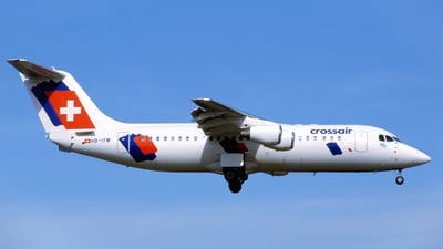 HB-IYW - British Aerospace Avro RJ100 - Crossair