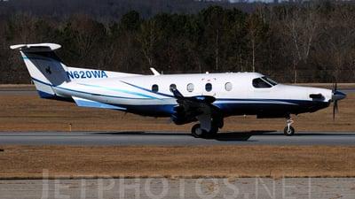 A picture of N620WA - Pilatus PC12/45 - Labcorp - © Agustin Anaya