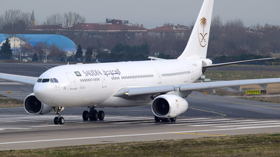 TC-OCG - Airbus A330-243 - Saudi Arabian Airlines (Onur Air)