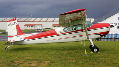 ZK-BFT - Cessna 180 Skywagon - Private
