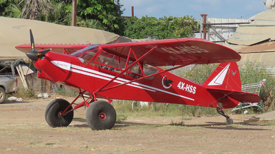 4X-HSS - Zlin Savage Cub - Private