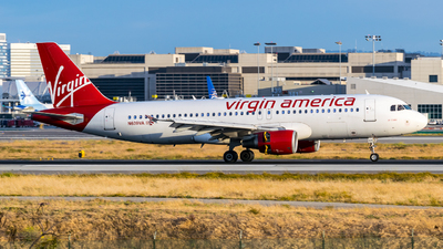 N639VA - Airbus A320-214 - Virgin America
