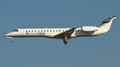 ZS-BBJ - Embraer ERJ-145LR - Fly Blue Crane (Solenta Aviation)