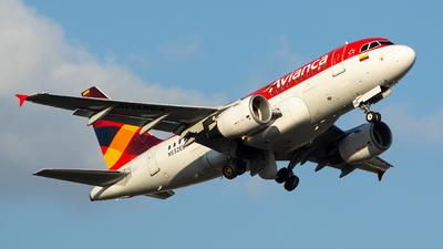 N592EL - Airbus A318-111 - Avianca