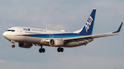 A picture of JA63AN - Boeing 737881 - All Nippon Airways - © Resupe