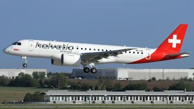 HB-AZE - Embraer 190-300STD - Helvetic Airways