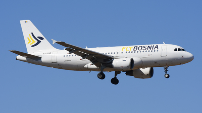 E7-FBB - Airbus A319-112 - FlyBosnia