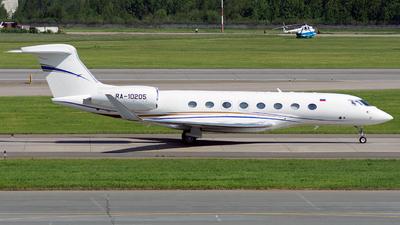 A picture of RA10205 - Gulfstream G650 - UTair Cargo - © ArCher