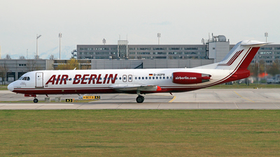 D-AGPB - Fokker 100 - Air Berlin (Germania)
