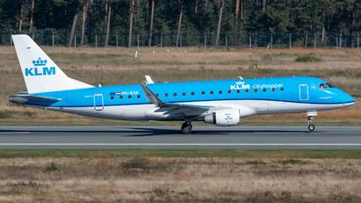 A picture of PHEXK - Embraer E175STD - KLM - © Timo Frisch