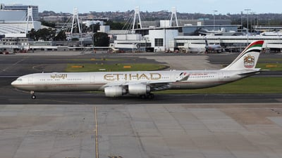 A6-EHL - Airbus A340-642X - Etihad Airways