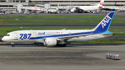 JA807A - Boeing 787-8 Dreamliner - All Nippon Airways (ANA)