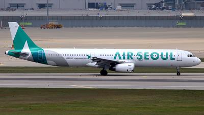 HL8280 - Airbus A321-231 - Air Seoul