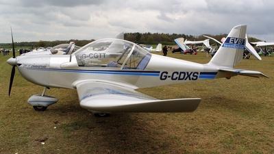 G-CDXS - Evektor-Aerotechnik EV97 Eurostar - Private