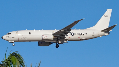 168754 - Boeing P-8A Poseidon - United States - US Navy (USN)