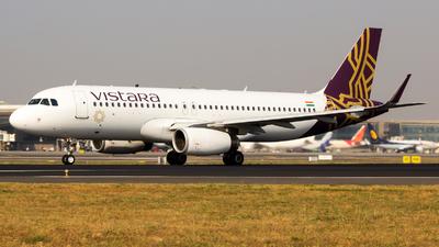 VT-TTF - Airbus A320-232 - Vistara