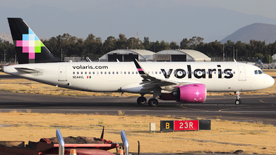 A picture of N544VL - Airbus A320271N - Volaris - © Luis Miguel Martinez