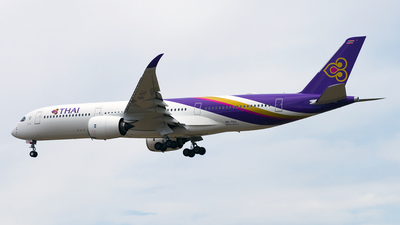 HS-THJ - Airbus A350-941 - Thai Airways International
