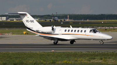 OE-GIE - Cessna 525 Citationjet CJ3 - Private