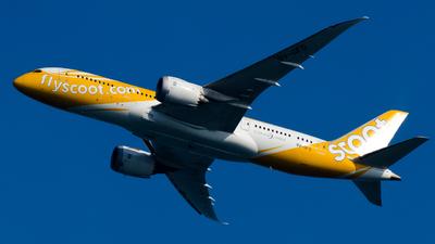 A picture of 9VOFD - Boeing 7878 Dreamliner - Scoot - © Wafi Ammar - sv.Jet