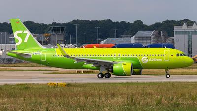 D-AVVS - Airbus A320-271N - S7 Airlines