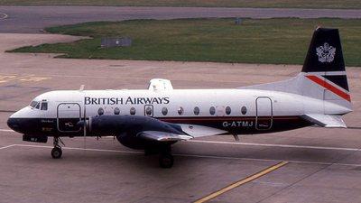 G-ATMJ - Hawker Siddeley HS-748 Series 2A - British Airways