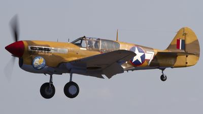 G-CGZP - Curtiss P-40F Warhawk - Private