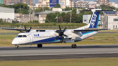 JA841A - Bombardier Dash 8-Q402 - ANA Wings