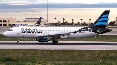 5A-ONO - Airbus A320-214 - Afriqiyah Airways