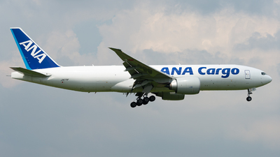 JA771F - Boeing 777-F - ANA Cargo
