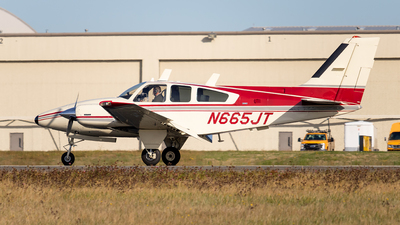 N665JT - Beechcraft E55 Foxstar - Private