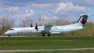 A picture of CGJZA - De Havilland Canada Dash 8400 - Air Canada - © Ottawa.Plane.Spotter