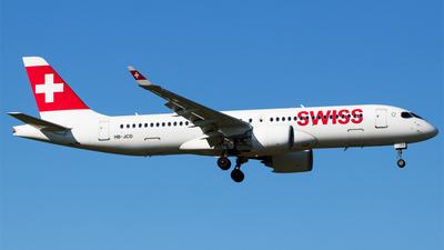 HB-JCD - Bombardier CSeries CS300 - Swiss