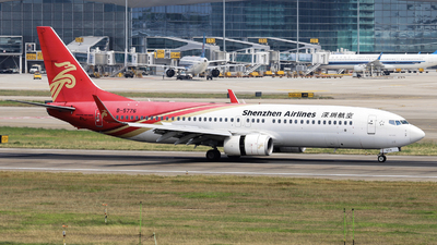 A picture of B5776 - Boeing 73787L - Shenzhen Airlines - © nibrage
