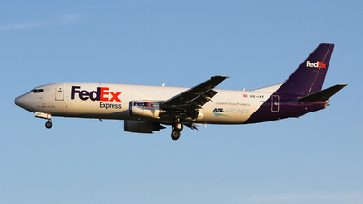 OE-IAT - Boeing 737-4M0(SF) - FedEx (ASL Airlines)