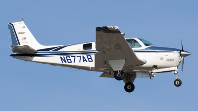 N677AB - Beechcraft B36TC Bonanza - Private