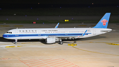 A picture of B8675 - Airbus A321211 - China Southern Airlines - © Morrisssssssss