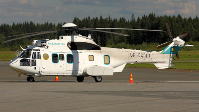 UP-EC501 - Eurocopter EC 225LP Super Puma II+ - Kazakhstan - Government