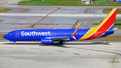 A picture of N8604K - Boeing 7378H4 - Southwest Airlines - © Adrián Alejandro
