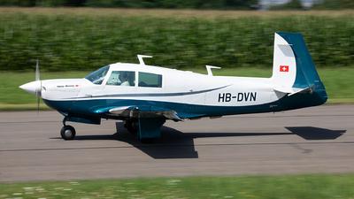 HB-DVN - Mooney M20E Super 21 - Private