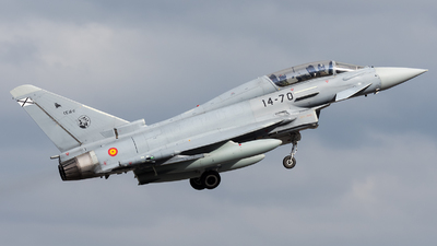 CE.16-11 - Eurofighter Typhoon EF2000 - Spain - Air Force