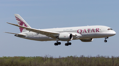 A picture of A7BCQ - Boeing 7878 Dreamliner - Qatar Airways - © Peter Tolnai
