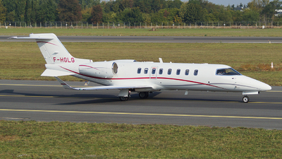 F-HGLG - Bombardier Learjet 75 - Private