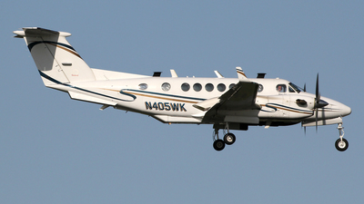 N405WK - Beechcraft B300 King Air 350 - Private