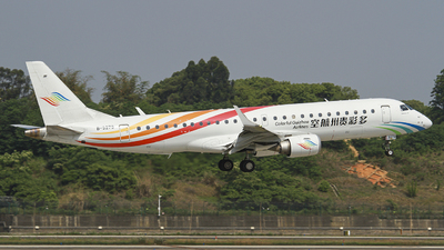 A picture of B3273 - Embraer E190LR - Colorful GuiZhou Airlines - © zjs