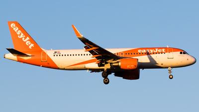 OE-ICB - Airbus A320-214 - easyJet Europe
