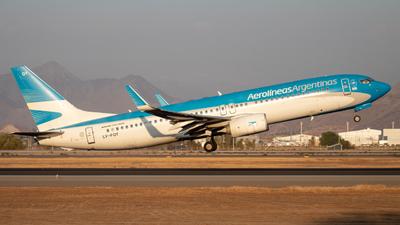 A picture of LVFQY - Boeing 73781D - Aerolineas Argentinas - © Sebastián Fernández